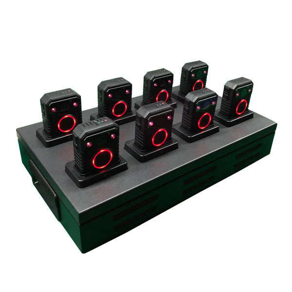 body camera docking station 8 ports with dock