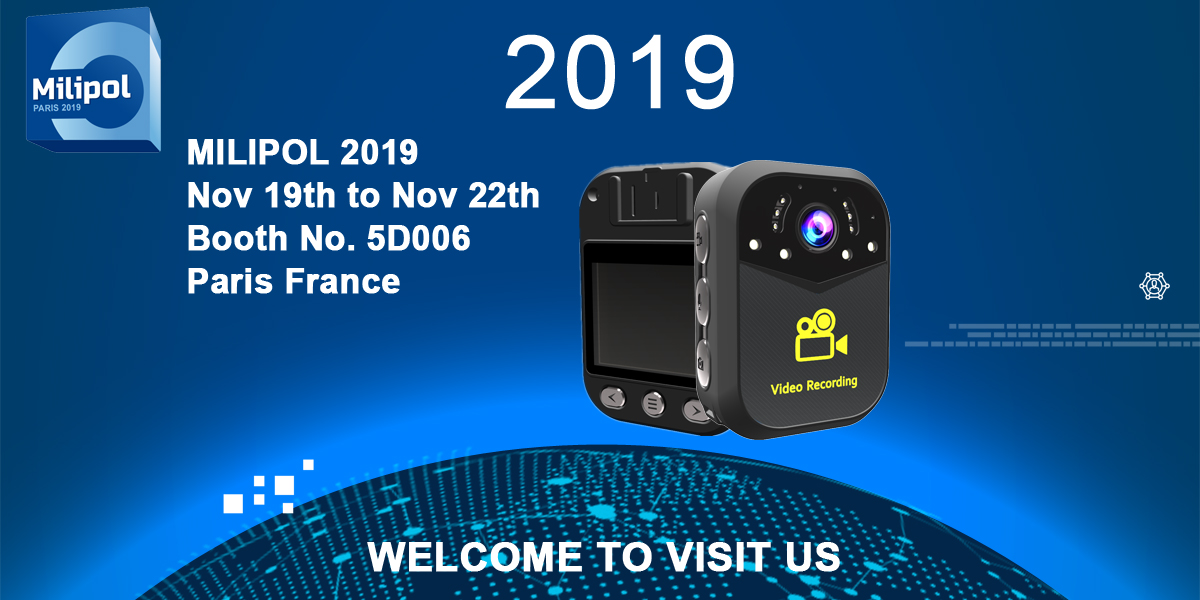 Body Camera Milipol Paris 2019 Shellfilm Exibition